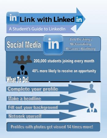 Why should a student want to use LinkedIn infographic